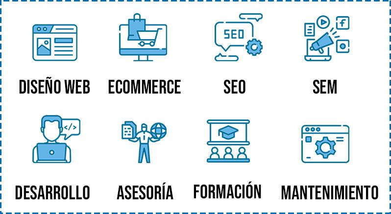 Leyenda proyectos web easymode marketing mobile