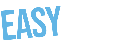 Logotipo EasyMode Marketing horizontal blanco